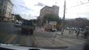 Авария с участием легковушки и КАМАЗа в Туле попала на запись регистратора