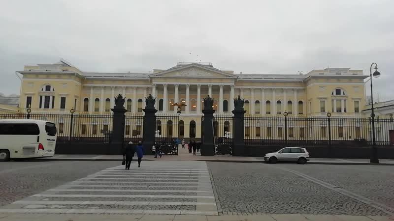 Михайловский дворец и площадь Искусств