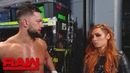 """The """"Jean"""": Becky Lynch gets advice from multiple Superstars: Raw, Feb. 11, 2019"""