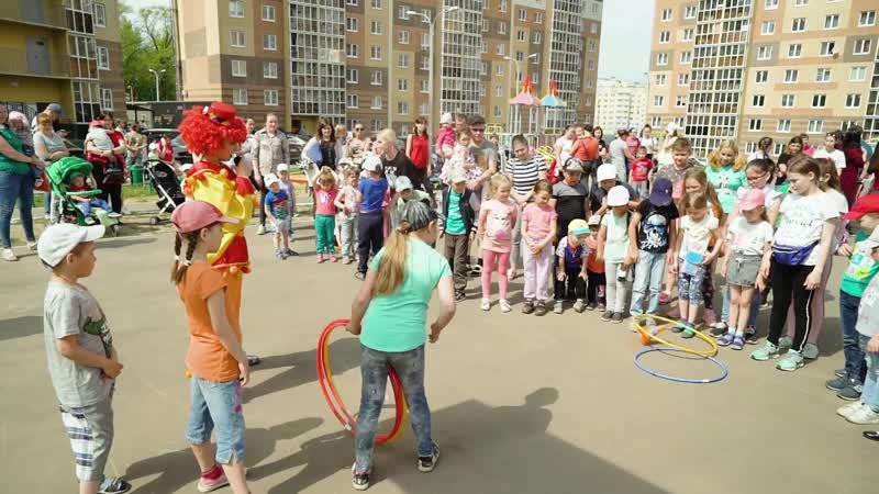 Спортивный праздник в ЖК Ясная Поляна
