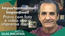 Pastor Silas Malafaia comenta: Provo com foto e vídeo que a imprensa mente.