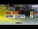 Hull-City vs Derby County 1-2 01/09/2018