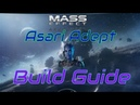 Asari Adept Gold SOLO Mass Effect Andromeda Multiplayer BUILD and GUIDE