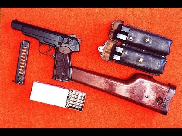 Полная разборка и сборка Автоматического пистолета Стечкина - 2 (сборка)