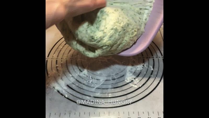Завтрак • Укропная лепешка с сыром