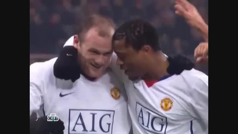 186 CL-2009/2010 AC Milan - Manchester United 2:3 (16.02.2010) HL