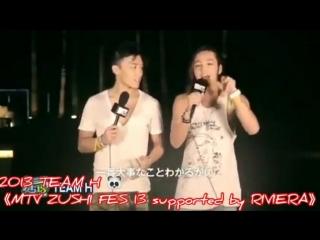2013 TEAM HMTV ZUSHI FES 13 supported by RIVIERA - - TEAM H - Summer Time - - ______________ - 장근석 - 張根碩 - JangKeunSuk - チャングンソク
