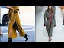 Теплые платья на осень зиму 2018 много стильных уютных образов