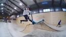 трюки на самокате часть 1 в скейтпарке ksspark 20190222