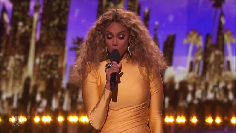 Tyra Banks and Simon Cowell Intro AGT LIVE Shows! _ Americas Got Talent 2018