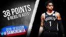 D'Angelo Russell Full Highlights 2018.11.25 76ers vs Nets - 38 Pts, 8 Rebs, 8 Asts! | FreeDawkins
