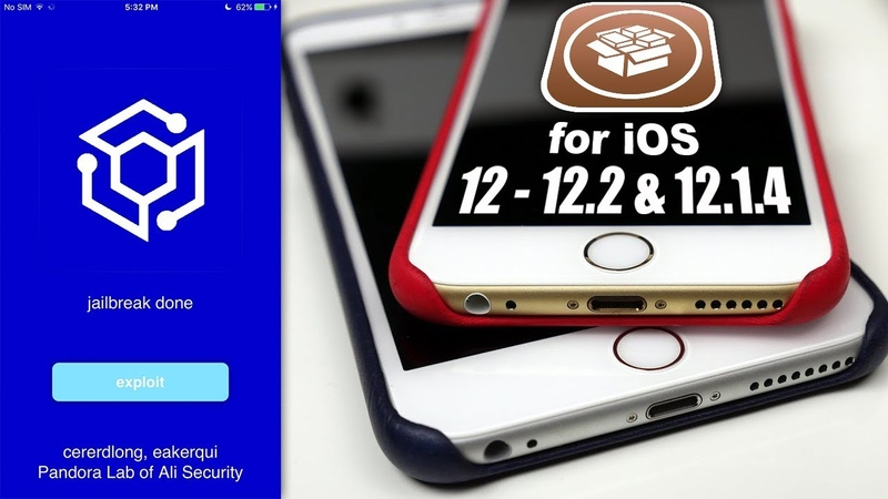 Jailbreak for iOS 12.3 - 12.1.4 12.2 Released Fully! (PandoraLAB 12)