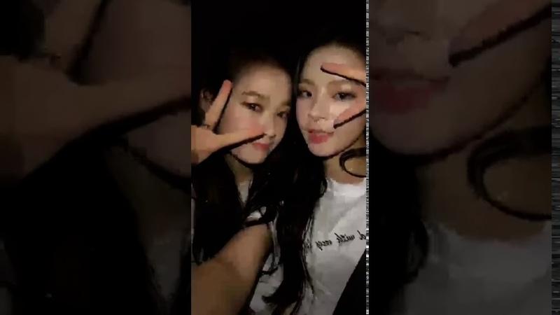 Lime Soda Hyerim (김혜림) ft. Seungji (나승지) Instagram Live [180830]