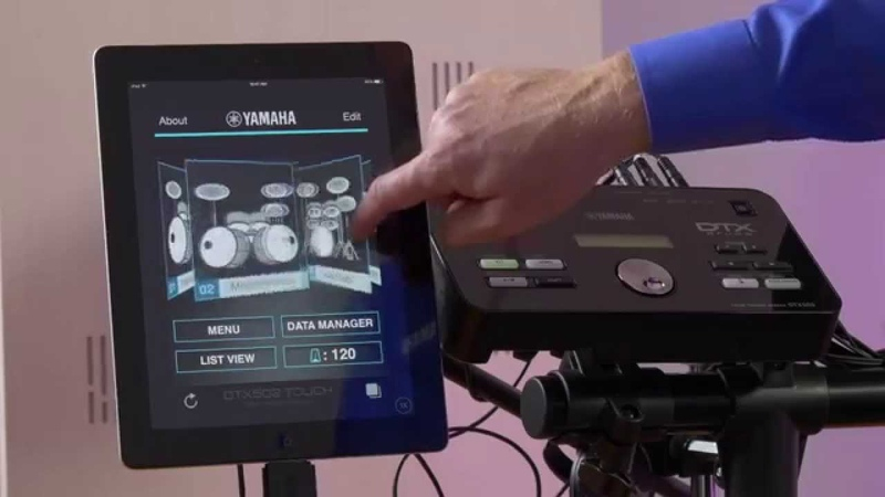 Yamaha DTX502 Touch App - Overview