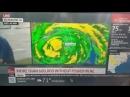 На что только не идут порой ради эффектного кадра!  Репортёр Weather Channel не побоялся урагана и вышел на улицу, чтобы показат