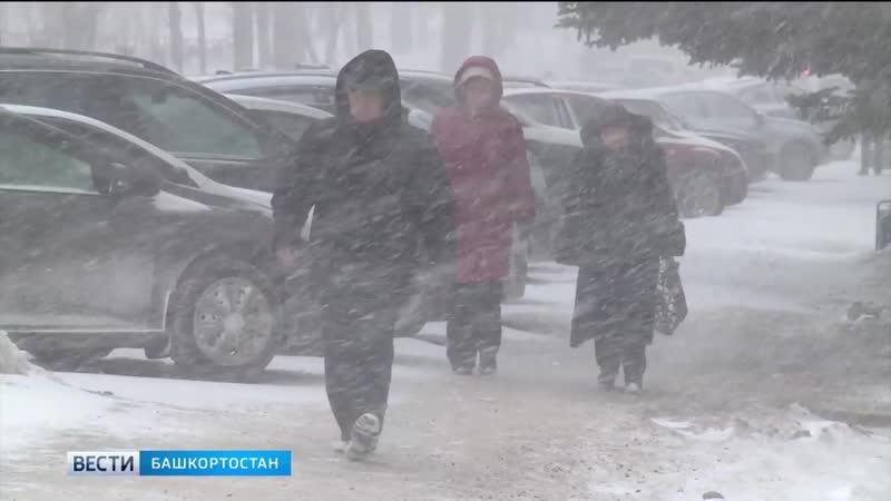 В Башкирии ухудшится погода_ на регион надвигается сильная метель