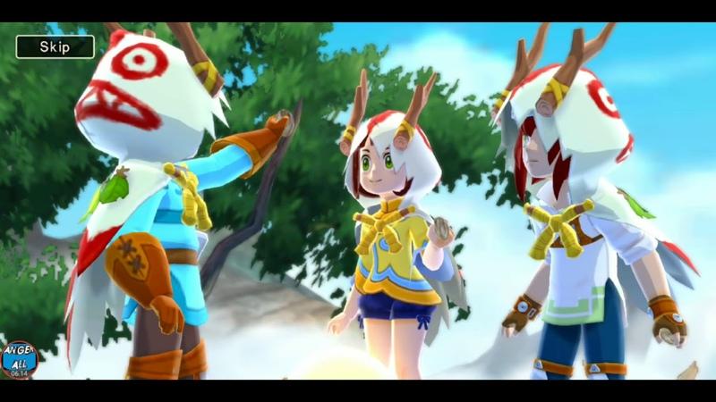 Monster Hunter Stories - Intro Gameplay