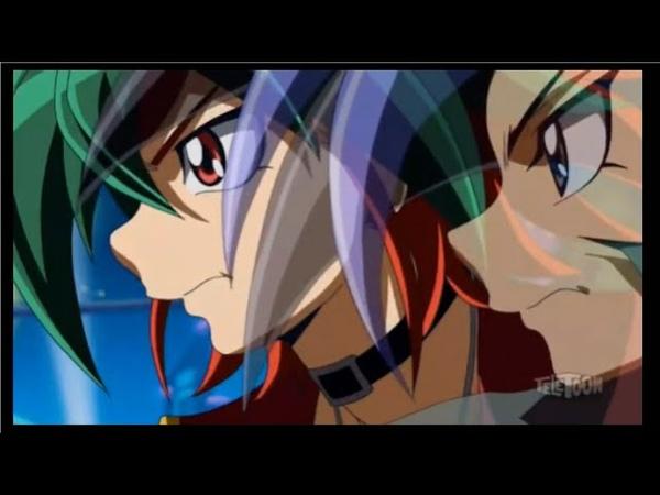 Yu-gi-oh Arc V DUB: 50 - Yuto and Yuya React to Reiji