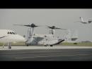 Charlotteans take MV 22 Osprey flight during Marine Week Charlotte CHARLOTTE CA UNITED STATES