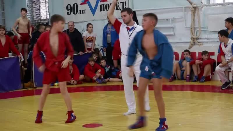 В Колывани прошел областной турнир по самбо Юный Динамовец
