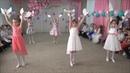 Выпускной в детском саду Танец с голубями