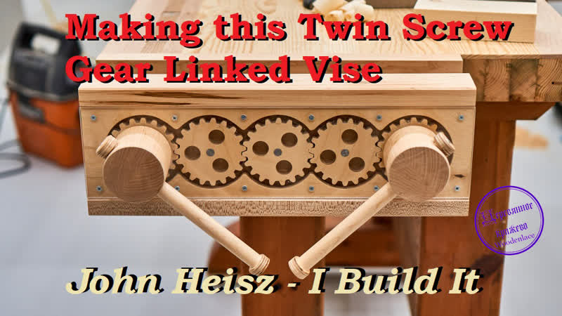 Making this Twin Screw Gear Linked Vise
