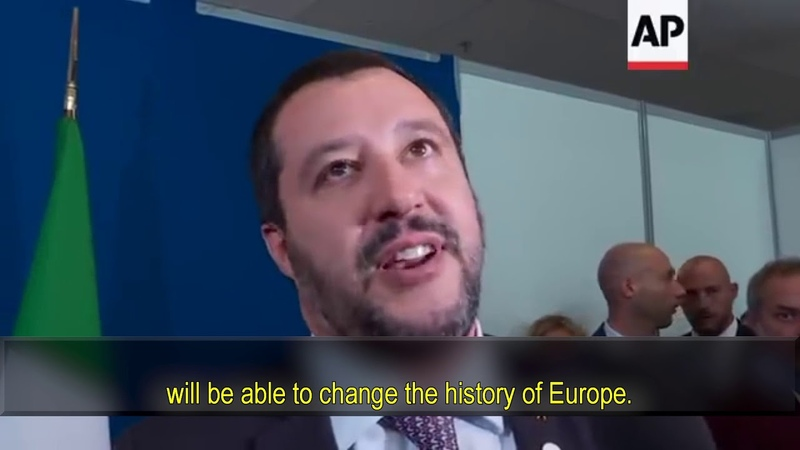 Matteo Salvini on migration policy