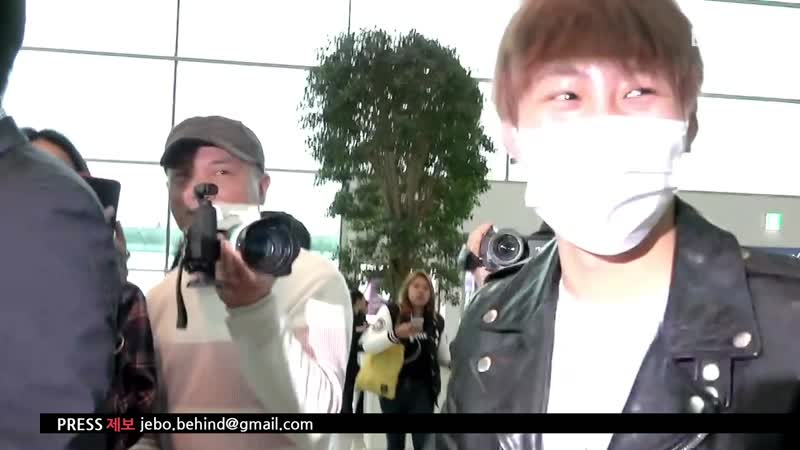 [190425] Sungwoon Departure to LA @behind press