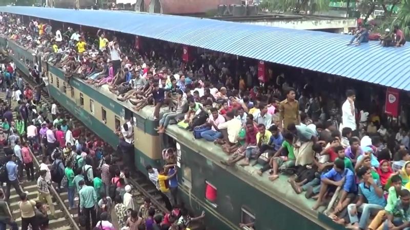 Поезда в Бангладеше