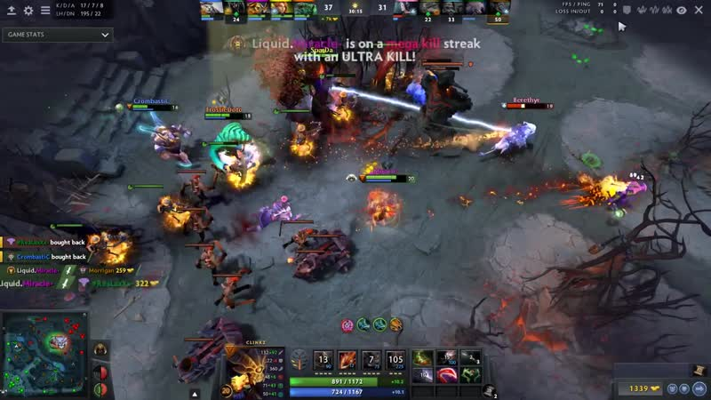 Miracle- Back to Carry - 3x Gameplays = 3x Rampages - Total Domination - M-GOD S