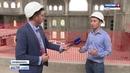 В крупнейшей мечети Крыма приступили к внутренней отделке