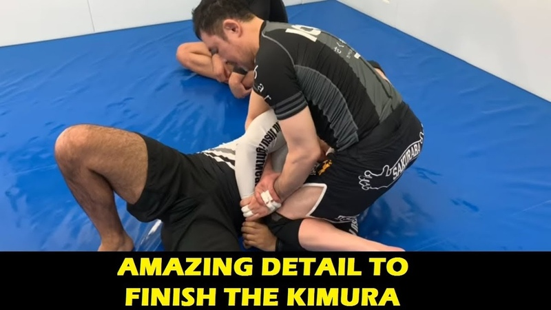 Amazing Detail To Finish The Kimura by Kazushi Sakuraba