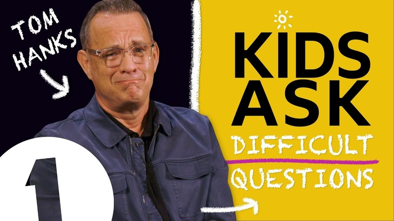 I do hate SOME kids! Kids Ask Tom Hanks Difficult Questions
