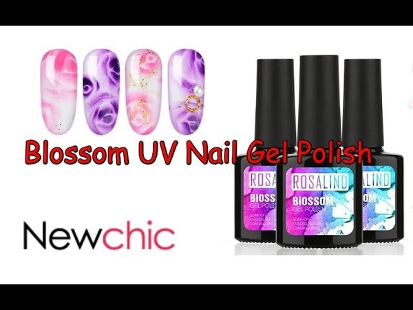 Newchic Review   Blossom UV Nail Gel Polish   Easy Nail Art Desings💓👍 16