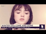 Do you get ideas from eachother ? maisie williams