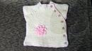Детская безрукавка с боковой застежкой на 1 год Вязание спицами