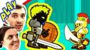 БолтушкА и ПРоХоДиМеЦ Побеждают Крутых БОССОВ 192 Игра для Детей Мечи и Души