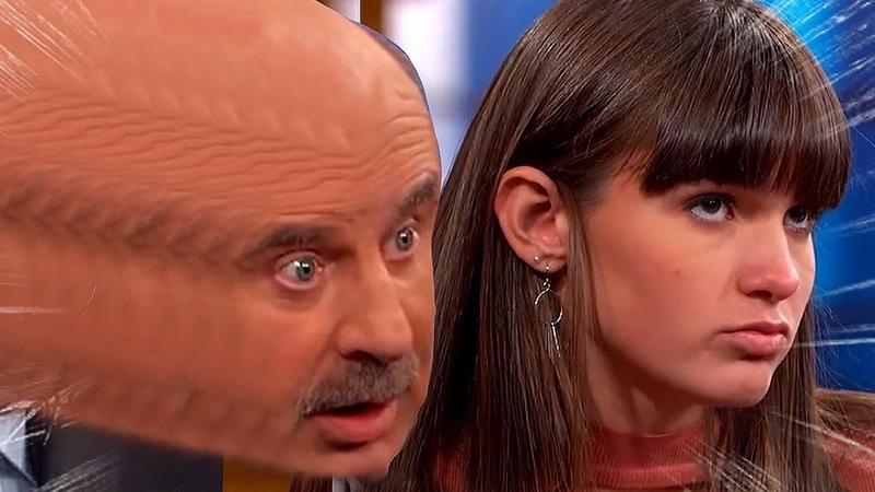Dr. Phil DESTROYS spoiled brat!