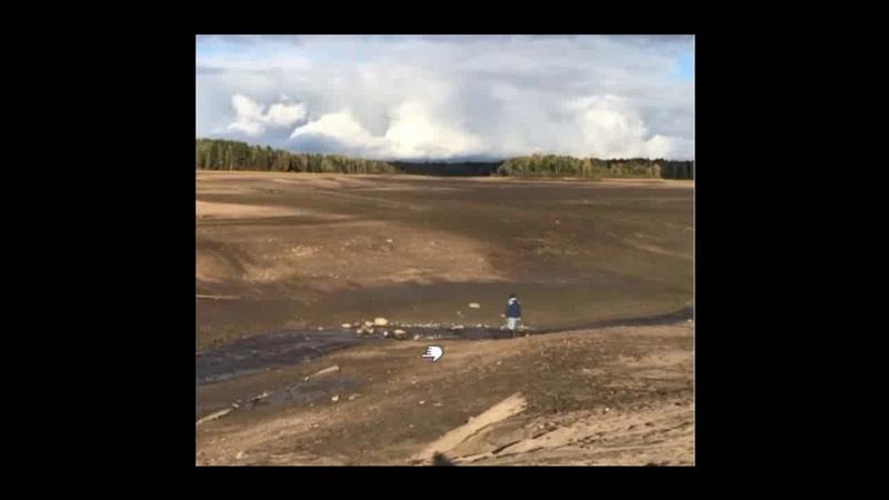 В Новгородской области полностью ушло под землю целое озеро