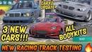 CarX2 Update 3 New Cars | All Bodykits | New Race Track Testing | CarX Drift Racing 2 (1.5.0)