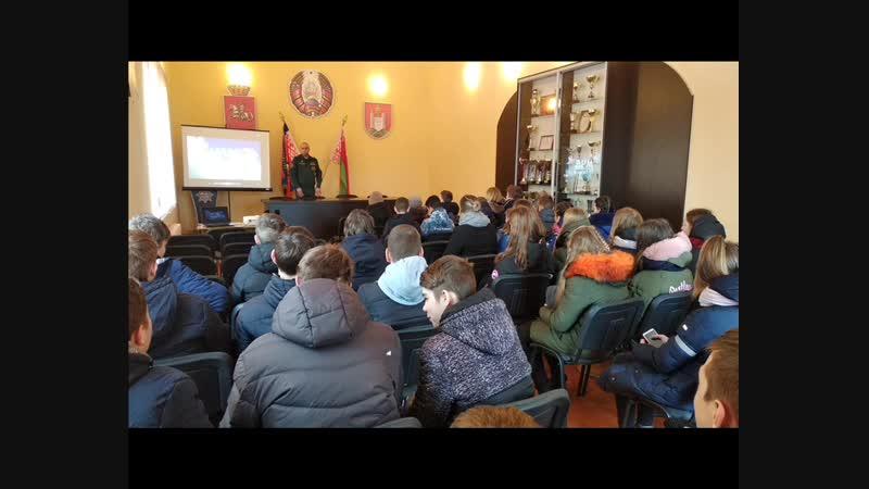 Единый день безопасности(Чырвоны прамень, районная газета, г. Чашники, г. Новолукомль)