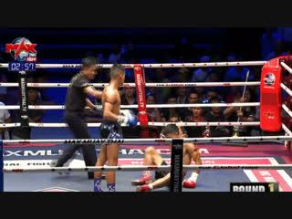 Короткий бой, глухой нокаут. Max Muay Thai. 07.02.2019.