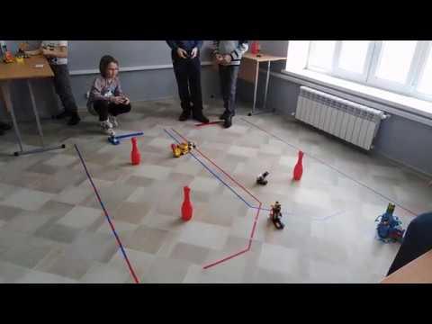 Гонки роботов в центре Техноград, Белебей