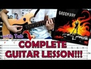 21 Guns - Green Day(Complete Guitar Lesson/Cover)with Chords and Tab