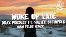 Drax Project ft. Hailee Steinfeld - Woke Up Late (Lyrics) Sam Feldt Remix