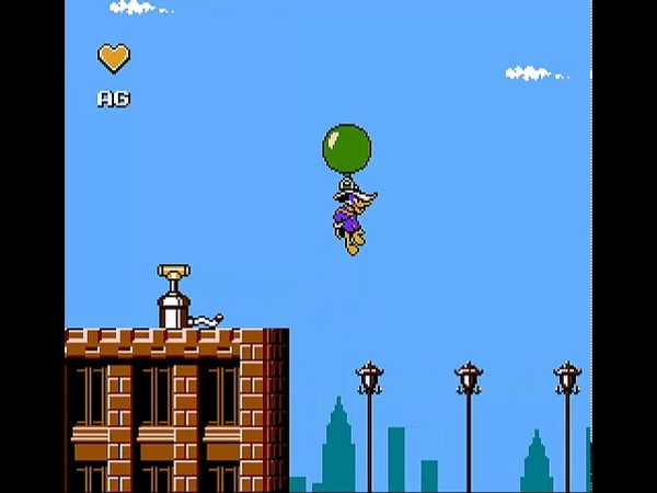 Let's play Darkwing Duck NES part 2 City Centre