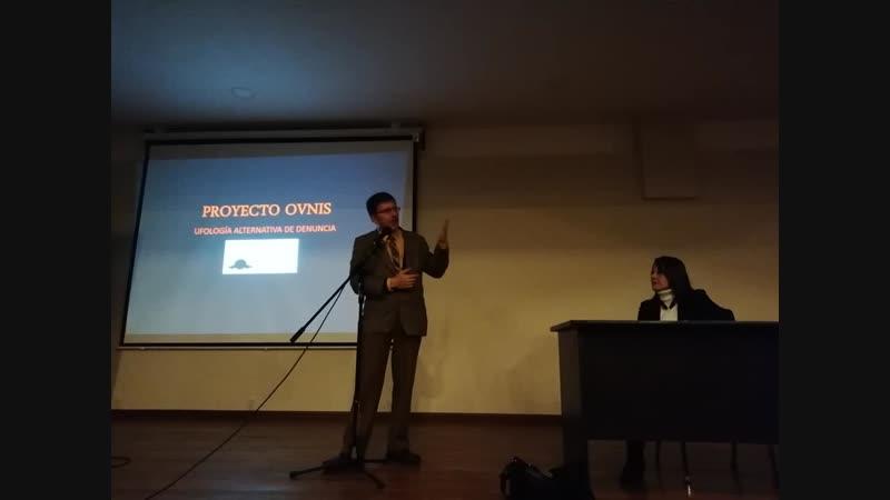 PROYECTO OVNIS - PRIMERA CHARLA UFOLÓGICA EN LA UMSA 2018