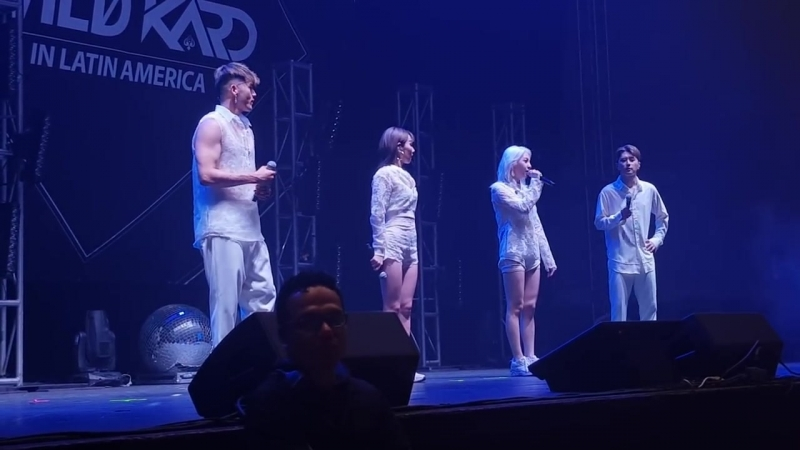180909 KARD - speak @ Wild KARD in Mexico