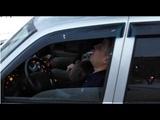 Задержание водителя Лады Приоры по сообщению от граждан