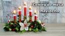 Centro de mesa navideño con tubos de cartón ESPECIAL NOCHE BUENA Diario de Olga